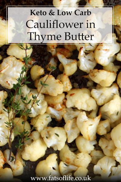 Cauliflower in Thyme Butter (Keto)