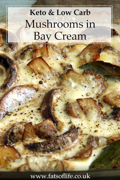 Mushrooms in Bay Cream (Keto)