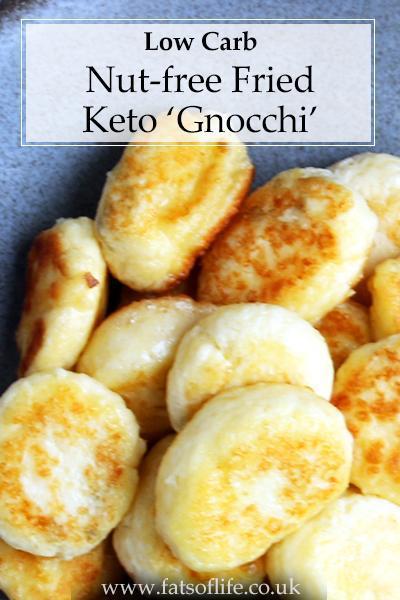 Fried Keto Gnocchi (Nut-free)
