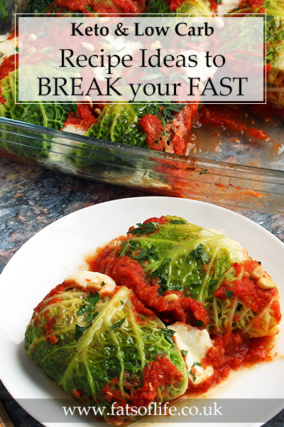 Keto Meals to Break a Fast