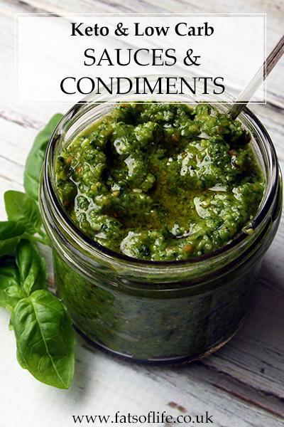 Keto Sauces & Condiments