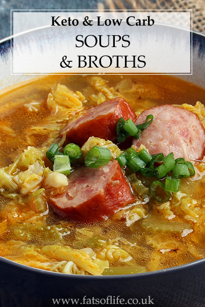 Keto Soups, Stocks & Broths