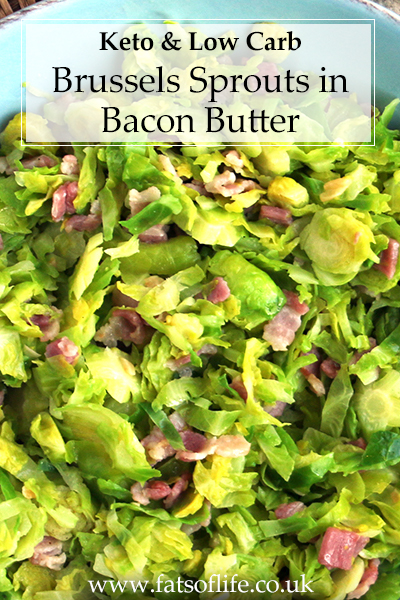 Brussels Sprouts in Bacon Butter (Keto)