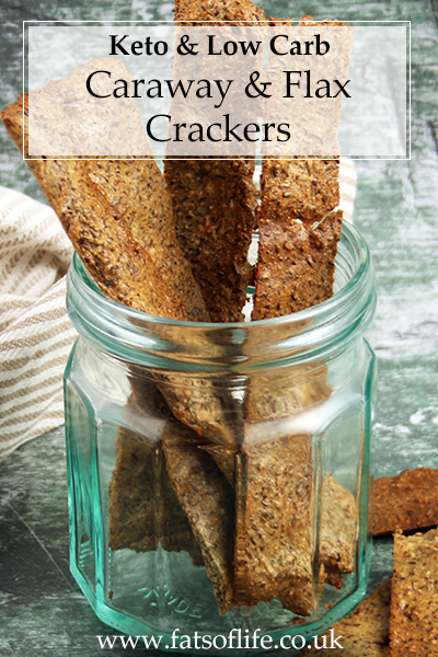 Caraway and Flax Crackers (Keto)