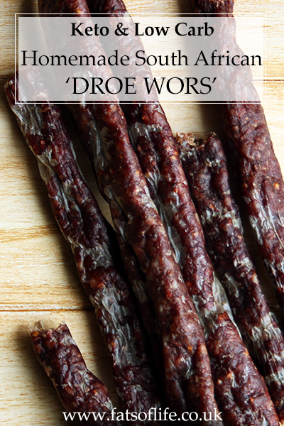 South African \'Droe Wors\' (Keto)