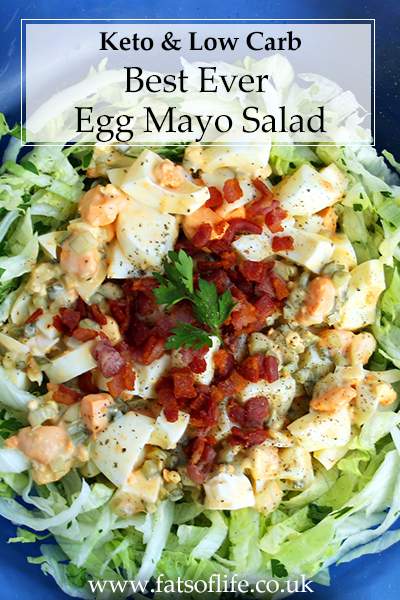 Best Ever Egg Mayo Salad (Keto)
