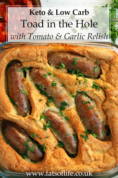 Toad in the Hole (Low carb)