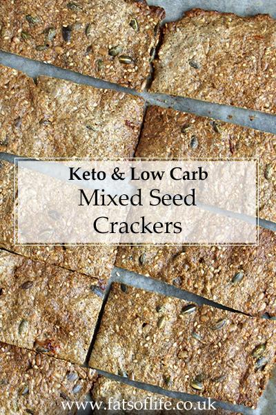 Mixed Seed Crackers (Keto)
