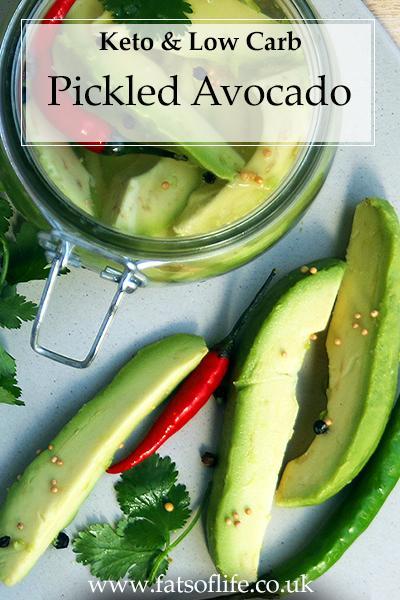 Pickled Avocado (Keto)