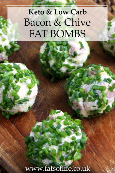 Bacon & Chive Fat Bombs (Keto)