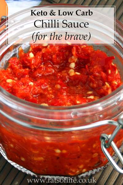 Keto Chilli Sauce (for the brave)