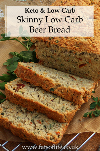 Ultimate Skinny Beer Bread (Low carb)