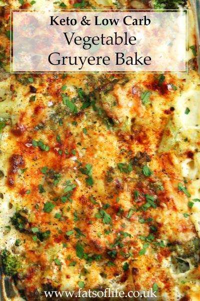 Vegetable Gruyere Bake (Keto)