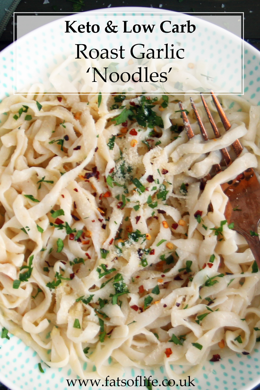 Roast Garlic \'Noodles\'