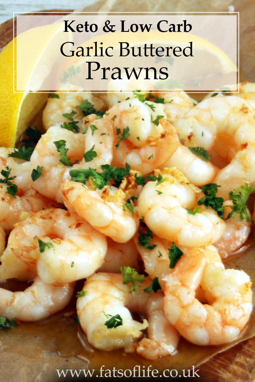 Garlic Buttered Prawns