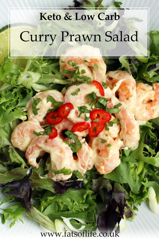 Curry Prawn Salad