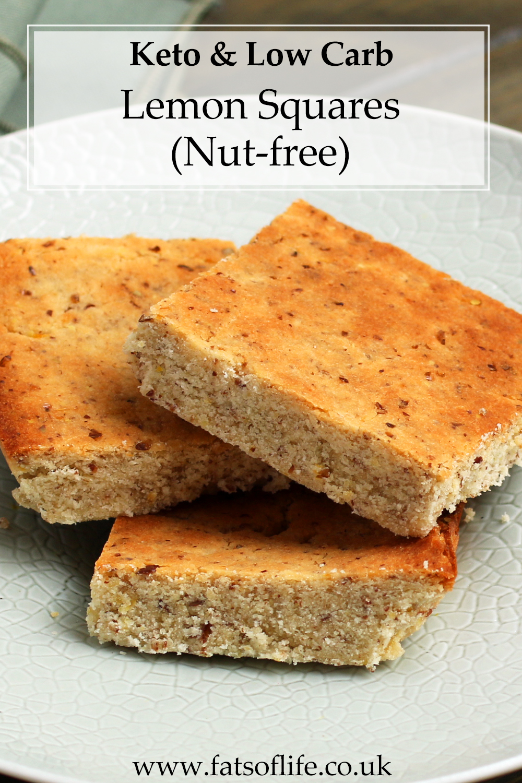 Baked Lemon Squares (Nut free)