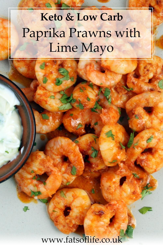 Paprika Prawns with Lime Mayo