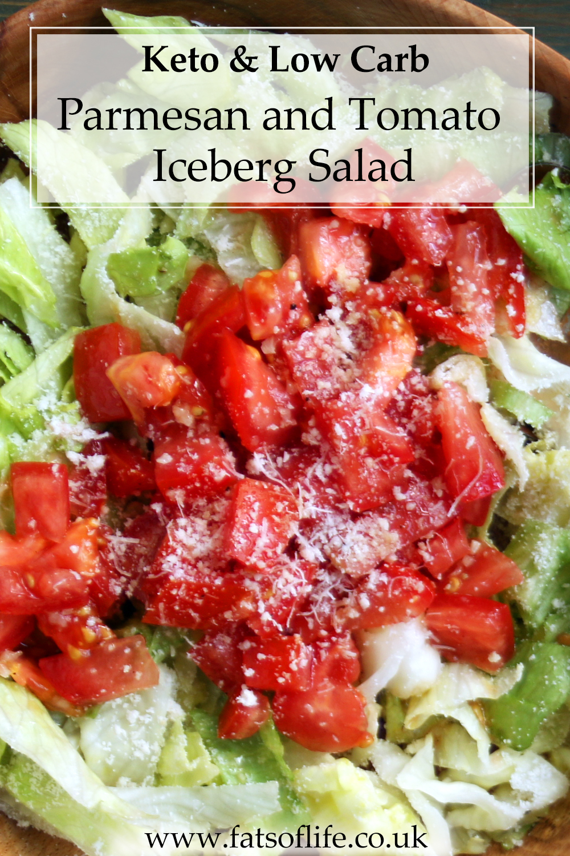 Parmesan & Tomato Iceberg Salad