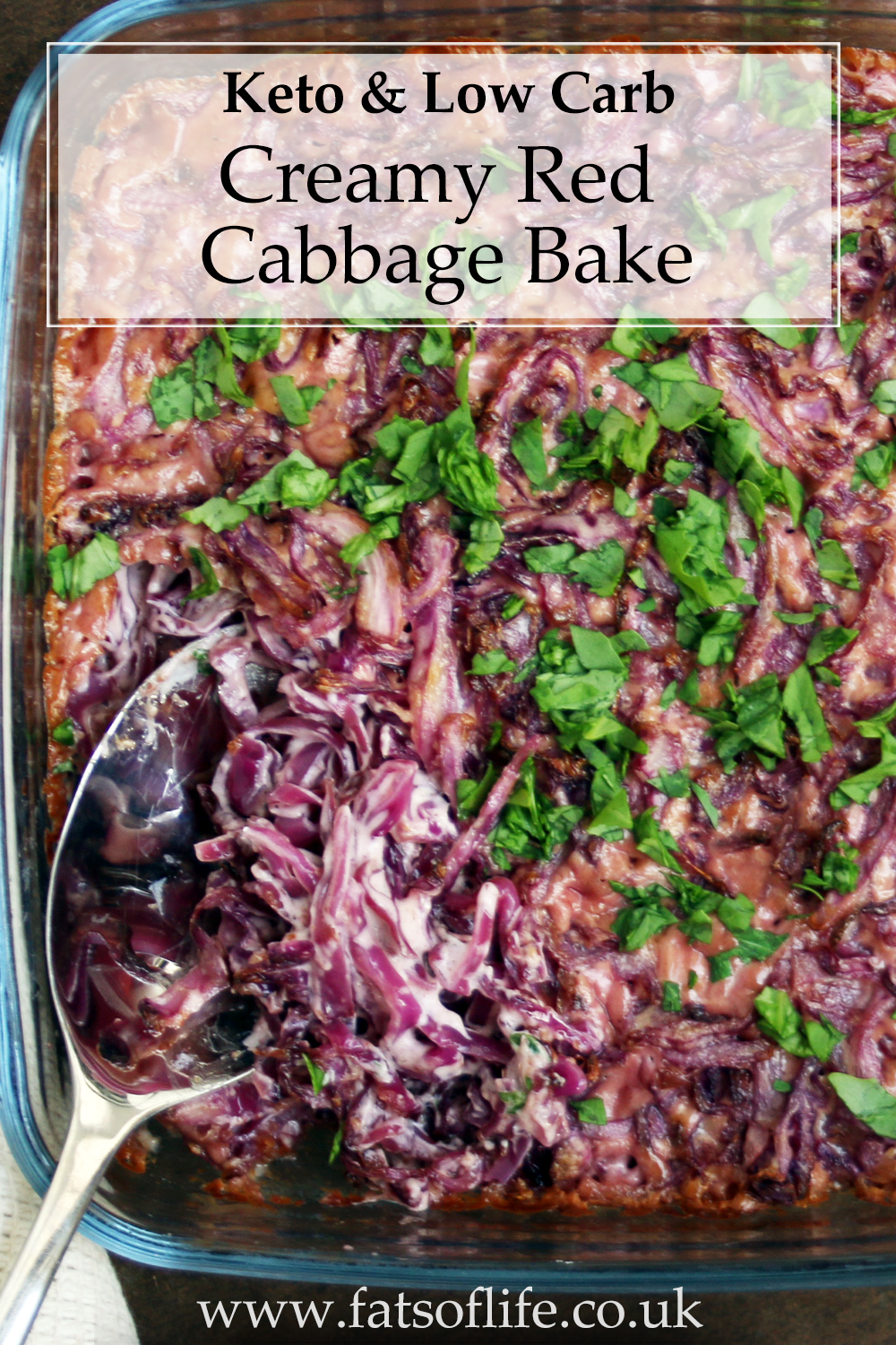Creamy Red Cabbage Bake